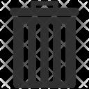 Bin Trash Waste Icon