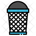 Bin Junk Waste Icon