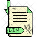 Extention Bin Format Icon