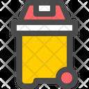 Bin Trash Container Icon