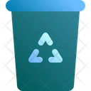 Bin Garbage Trash Icon