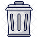 Bin Trash Bin Garbage Bin Icon