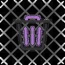 Bin Trash Delete Icon