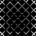 Bin File Document Icon