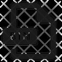 Bin File Format Icon