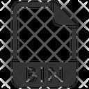 Bin Document File Icon