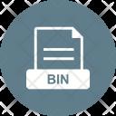 Bin File Extension Icon