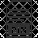Bin File Formate Icon