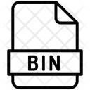 Binary File Computing Icon