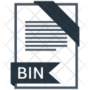 Bin Format Document Icon