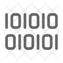 Binary Code Cryptocurrency Icon