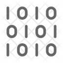 Binary Code Programming Icon