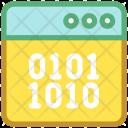 Binary Browser Coding Icon