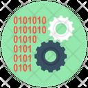 Binary Data Management Programming Icon