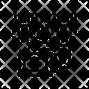 Binary Code Folders Icon