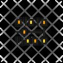 Binary Digital Code Icon
