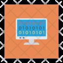 Binary Language Code Icon