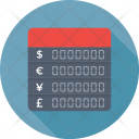 Binary Exchange Currency Icon