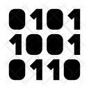 Binary Digital Computer Icon