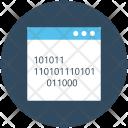 Binary Numbers Coding Icon