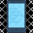 Binary Analysis Binary Processed Mobile Analysis Icon