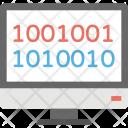 Binary Code Computer Icon