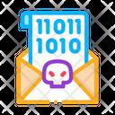 Binary Code Carder Icon
