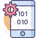 Binary Code Binary Language Encryption Icon