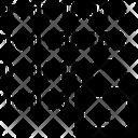 Lock Binary Code Icon