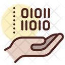 Binary Code Binary Hand Decode Icon