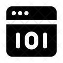 Binary Interface Binary Code Abi Programming Icon