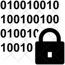 Binary Code Binary Lock Icon