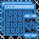 Binary Code Binary Coding Code Icon
