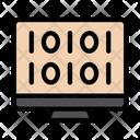 Binary Coding Programming Icon
