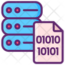 Binary Code Database Icon