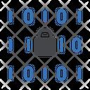 Binary Code Lock Icon