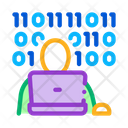 Binary Codeing Icon