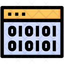 Binary Coding Icon