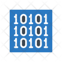 Binary Coding Development Icon