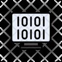 Binary Coding Machine Icon