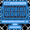 Binary Coding Code Computer Icon