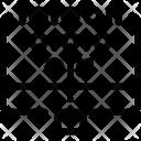 Binary Coding Code Icon
