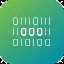 Binary Digital Encryption Icon