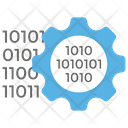 Binary Data Digital Data Programming Language Icon