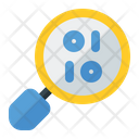 Binary Data Searching Data Binary Search Icon