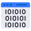 Binary Data Icon