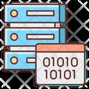 Binary Data Databse Icon