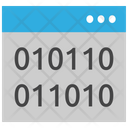 Binary Digits Icon