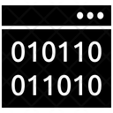 Binary Digits Binary Bits Icon