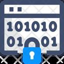 Binary Encryption Icon